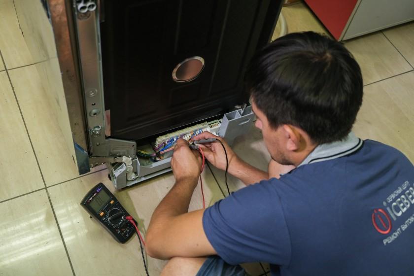 Ремонт посудомоечных машин в Алматы в сервисном центре ICEBERG