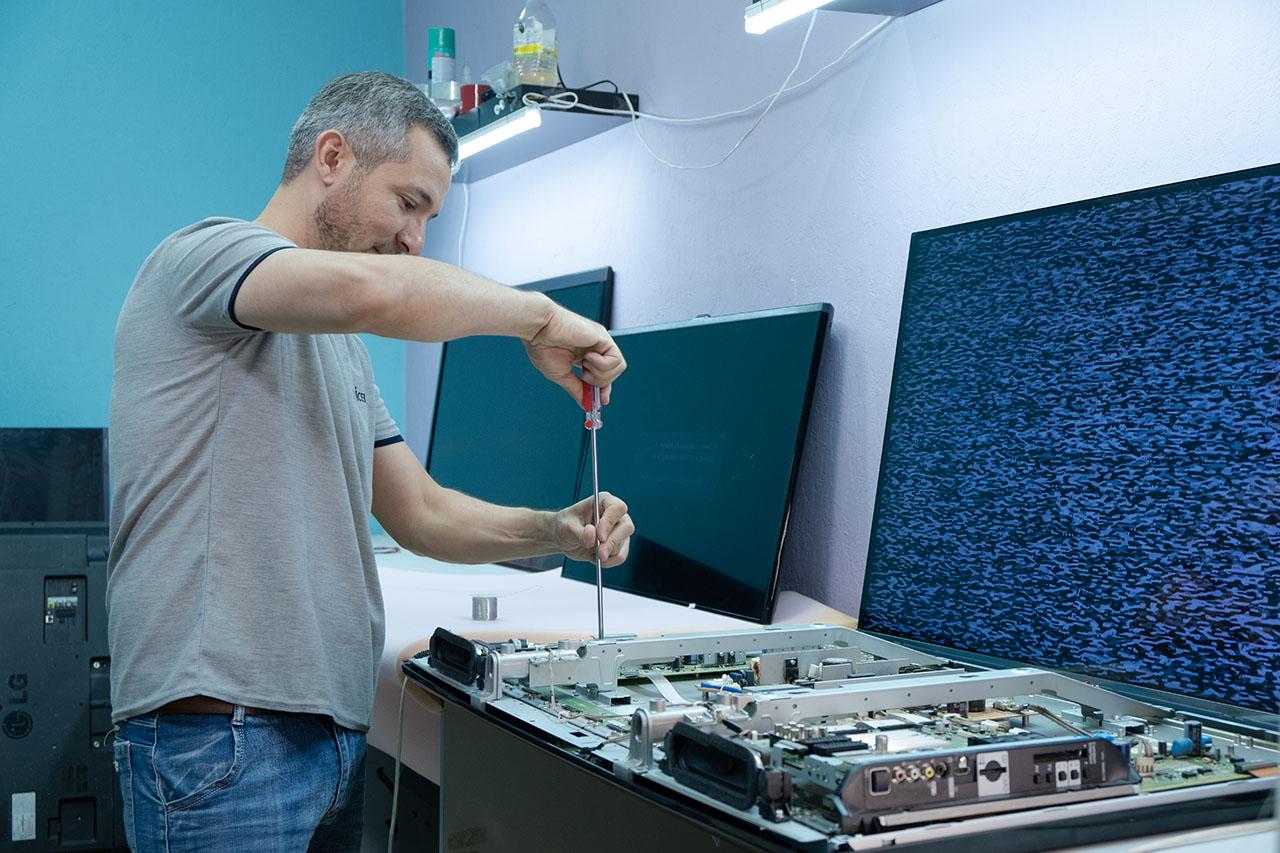 Произведем ремонт телевизора
